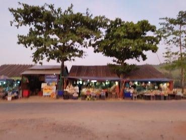 Roadside scenes: village markets