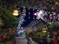The bright lights of Hpa-An