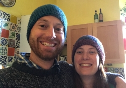 Crocheted hats make perfect presents for Scottish folk!